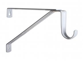 KV 1194 Series Commercial Adjustable Heavy-Duty Closet Rod & Shelf Bracket, White