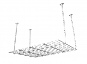 "50175-10 HyLoft® 60"" x 45"" Ceiling Storage Unit, White"