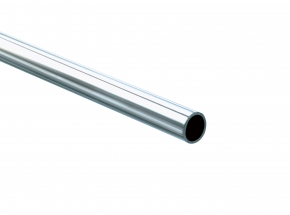 KV 660 Series Commercial Heavy-Duty Round Closet Rod, Stainless Steel
