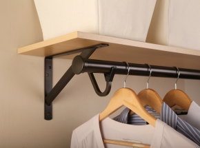 Closet-Pro HD 0015 Heavy-Duty Closet Pole, Bronze