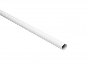 Closet-Pro 0018 Regular-Duty Closet Pole, White