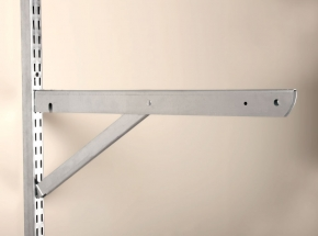 """BK-0103-22 FAST-MOUNT 20"""" Double Bracket With Support"""
