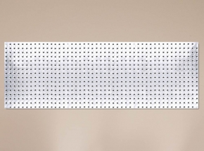 "HEAVYWEIGHT 0204 16"" x 48"" Diamond Plate Steel Pegboard"