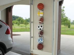 0027 John Sterling Ball Rack (Sports Balls Not Included)