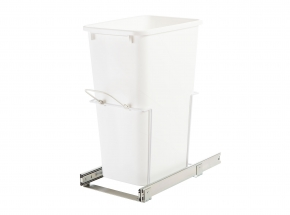 SBM12-1-50WH Standard Bottom-Mount single-bin waste & Recycling Unit, 50-qt